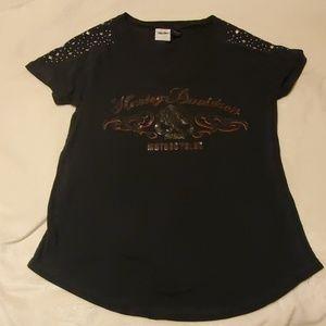 Women's Harley Davidson short sleeve size large